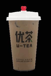 Choco milk tea - transparent