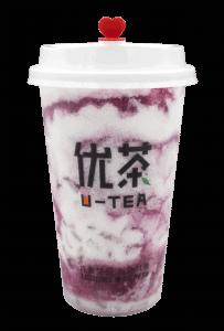 Grape yogurt cap - transparent
