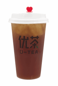Lychee black tea - transparent