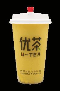 Mango tea - transparent
