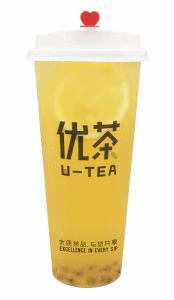 Passionfruit tea - transparent