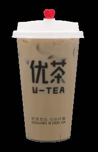 Roasted milk tea - transparent