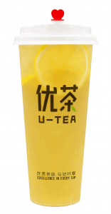 Super lemon green tea (transparent)