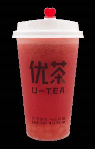 Watermelon lychee tea - transparent